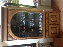 Solid Oak Belgium Hutch - LIKE NEW in Spangdahlem, Germany