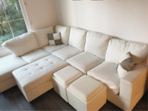 Couch set in Temecula, California