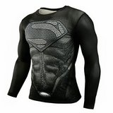 Men's long sleeve fitted superhero top in Okinawa, Japan