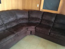 SECTIONAL COUCH brown in Okinawa, Japan