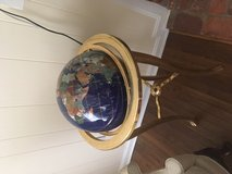 Lapis and Gemstone decorative globe - excellent condition in Fort Belvoir, Virginia