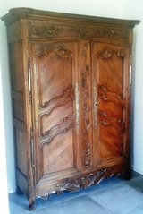 Around 1790 French wedding armoire in Ramstein, Germany