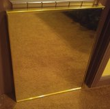 Gold Trim Mirror - Large in Fort Campbell, Kentucky