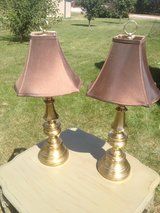 Pair of Brass Table Lamps in Sugar Grove, Illinois