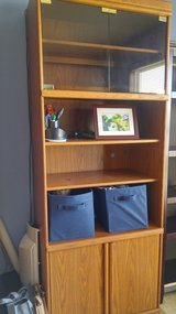 Two matching bookcases in Bolingbrook, Illinois