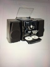 Anders Nicholson 3 Cd Am/Fm Stereo System Dual Cassette Aux Turntable NIB in 29 Palms, California