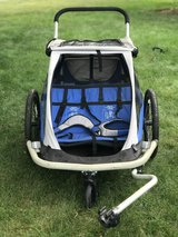 Double Jogging Stroller / Bike Trailer combo in Westmont, Illinois