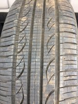 (1) P195/60R15 Used Kuhmo Tire in Westmont, Illinois