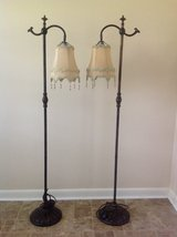 Set of 2 Decorative Floor Lamps in Warner Robins, Georgia