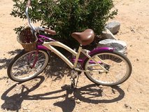 "LaJolla 24"" step-through all-aluminum street cruiser in Yucca Valley, California"