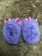 Purple Monster Slippers - Hardly worn in Okinawa, Japan