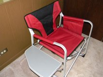 Aluminum Folding Directors Chair w/ Tray & Caddy in Palatine, Illinois