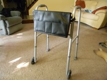 "Folding Walker with 5"" Wheels and Organizing Bag in Glendale Heights, Illinois"