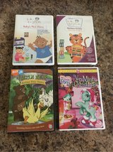Set of 4 DVDs, They are: 2 Baby Einstein, My Little Pony and Little Beat in Bartlett, Illinois