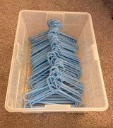Blue Baby/Toddler Hangers (set of 58) in Yorkville, Illinois