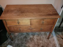 3 drawer wood dresser in San Diego, California