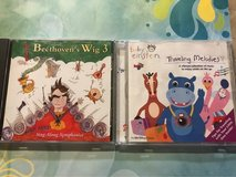Set of 2 Cds for kids. Baby Einstein and Beethoven's Wig 3 in Plainfield, Illinois