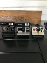 3 Polaroid cameras in Fort Polk, Louisiana