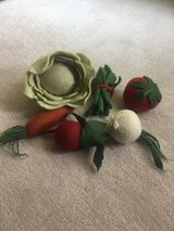 Wool Play Vegetable Set/Toys in Chicago, Illinois