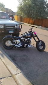 Custom Harley Davidson Chopper in Fort Carson, Colorado