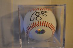 Gary Sanchez New York Yankees All Star Catcher Autographed in Camp Lejeune, North Carolina