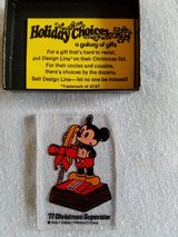 Vintage Disney touch tone phone ornament in Glendale Heights, Illinois