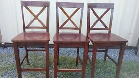 3 Solid Wood  Chairs in DeRidder, Louisiana
