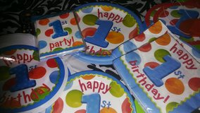 first birthday supplies never used in Lawton, Oklahoma