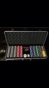 New Poker chips in Fort Hood, Texas