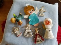 Angel ornaments in Plainfield, Illinois