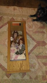 Porcelain doll plus case in 29 Palms, California