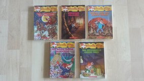 5 Geronimo Stilton Books in Wheaton, Illinois