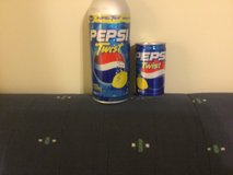 2 Japanese Pepsi Twist cans from 2003 & 2005 - EMPTY in Okinawa, Japan