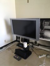 "Sony Bravia 46"" TV with stand in Okinawa, Japan"