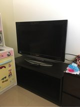 "Sharp 32"" TV with stand in Okinawa, Japan"