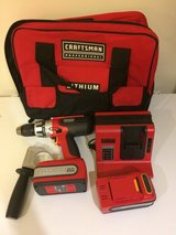 Craftsman 11V Lithium-Ion Drill Kit in Okinawa, Japan