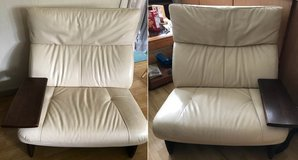 High Quality Leather Couch/Chair in Yokota, Japan