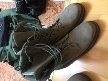 Sage Green Boots in Ramstein, Germany