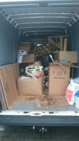 JUNK REMOVAL TRASH HAULING PICK UP AND DELIVERY in Ramstein, Germany