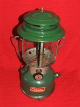 Vintage Coleman Lantern Model 220F with Accessory Safe in St. Charles, Illinois