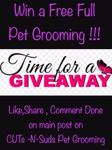 join us on Facebook for chance to win free full pet groom in DeRidder, Louisiana