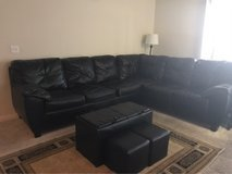 Leather Sectional in Lake Worth, Texas