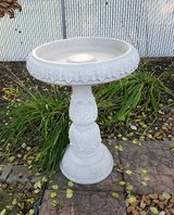 Birdbath in New Lenox, Illinois
