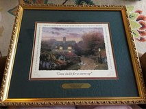 Thomas Kinkade Open Gate Sussex Collectors Society in Fort Campbell, Kentucky