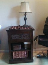 End table (solid wood)- in oceanside in Camp Pendleton, California