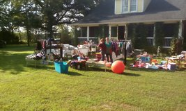 yard sale  8010 Highway 86 N in Cary, North Carolina