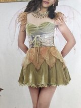 Halloween Custome woodland fairy in Grafenwoehr, GE