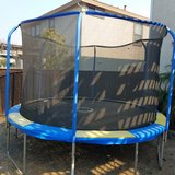 "12"" Trampoline Almost new! in Travis AFB, California"
