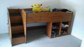 Twin Size Ashley Loft Bed in Fort Lewis, Washington