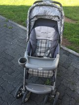 Eddie Bauer Stroller+Car Seat in Spangdahlem, Germany